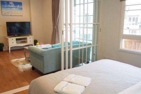 30 Bedroom opens to living room