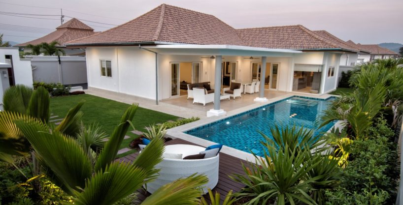 Brand new Luxury Villas in Hua Hin at Quiet Hillside Area