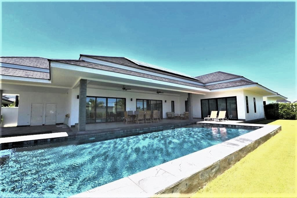 New Luxury Pool Villa in Hua Hin near Palm Hills Golf Resort