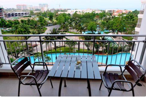 13 Condo wide balcony