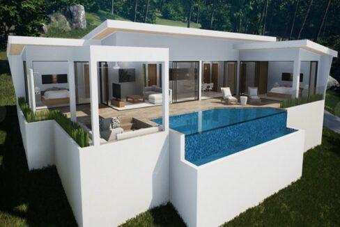 60 Villa 3D-Model