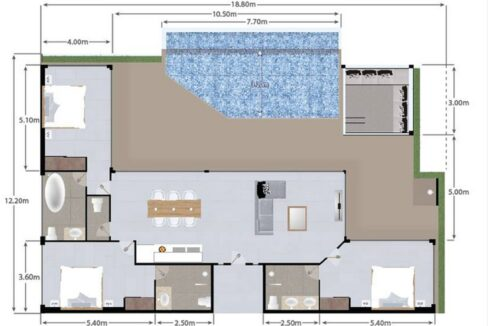 61 Villa Floorplan