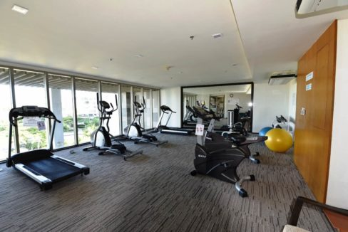 84 Well equipped fitness room