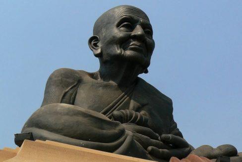 96 Wat Huay Mongkol Black Buddha