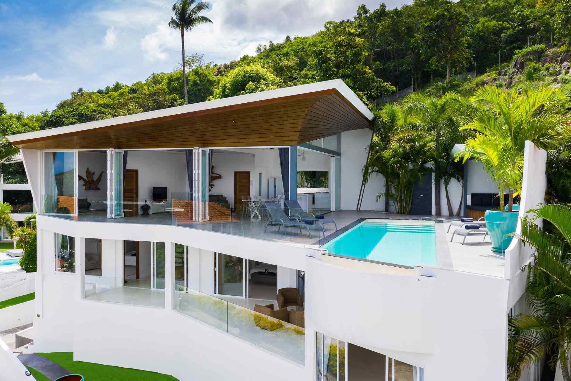 Extraordinary 4 Bedroom Koh Samui Sea View Villa