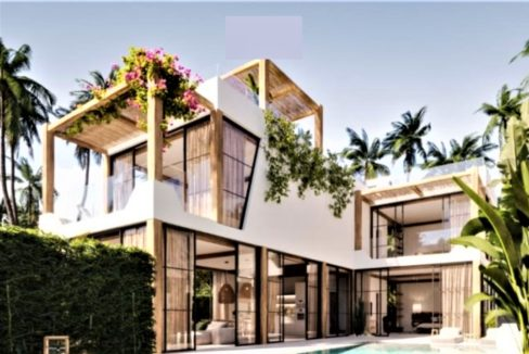01 Spectacular 2 Level Koh Samui Sea View Villa