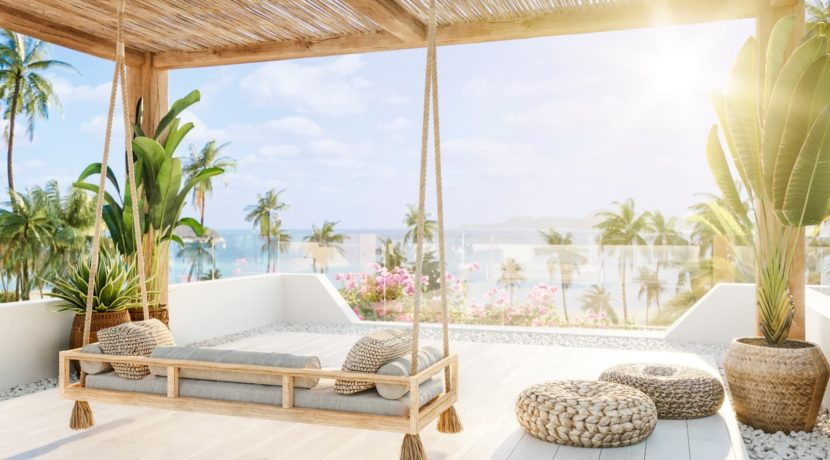 13 Roof top terrace with great seaview