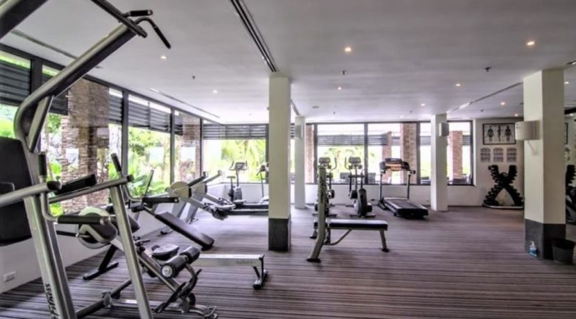 85 Well equipped fitness room