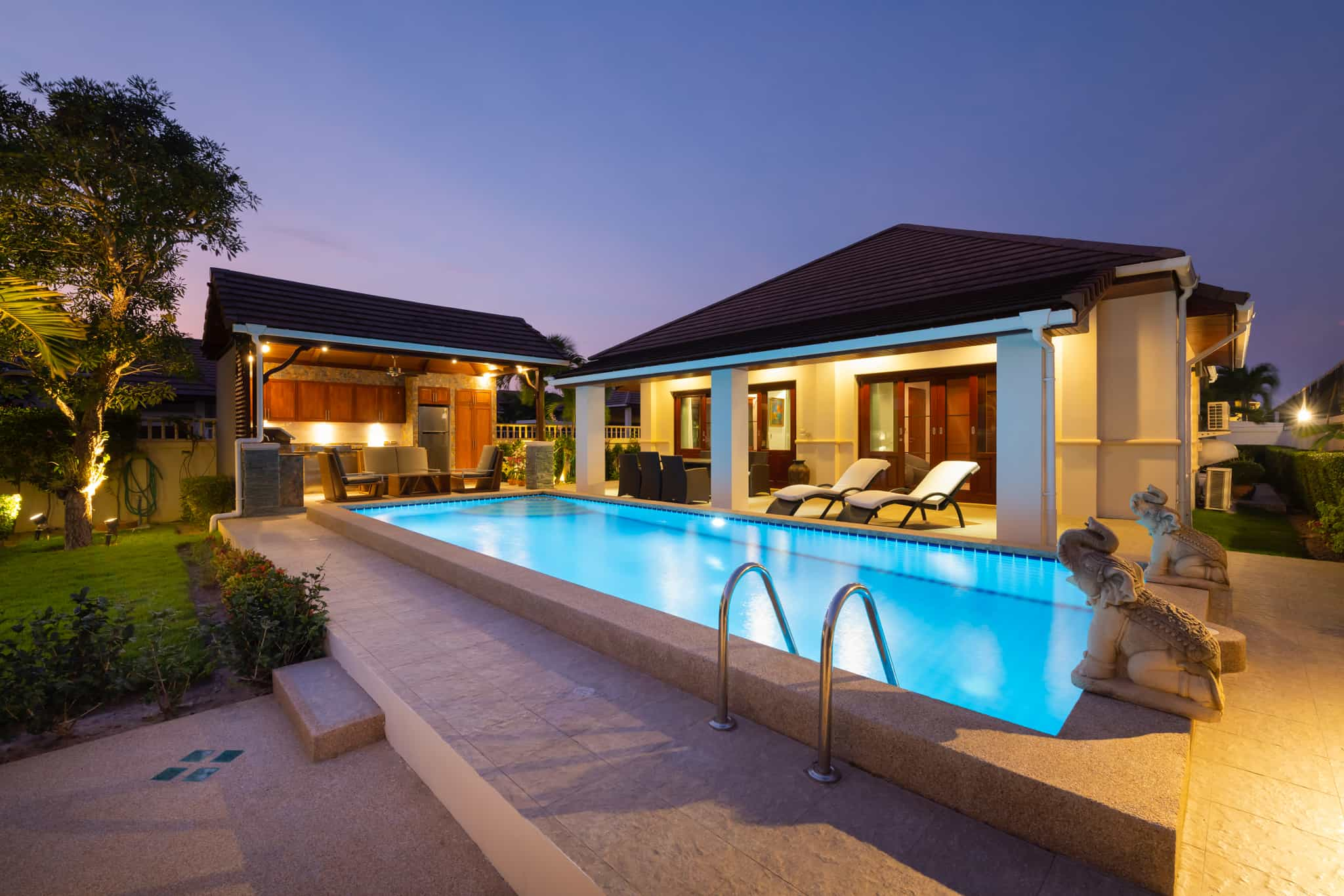 Balinese Style Pool Villa in Hua Hin at Hillside Hamlet5