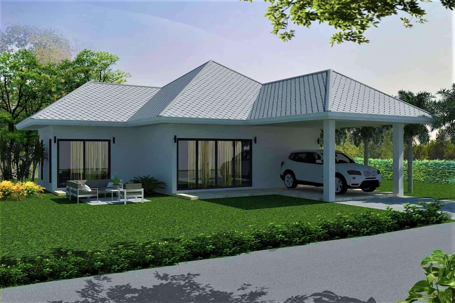 New Villas in Hua Hin Development with Mountain View