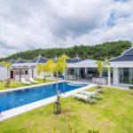 01 H Shape Luxury Pool Villa