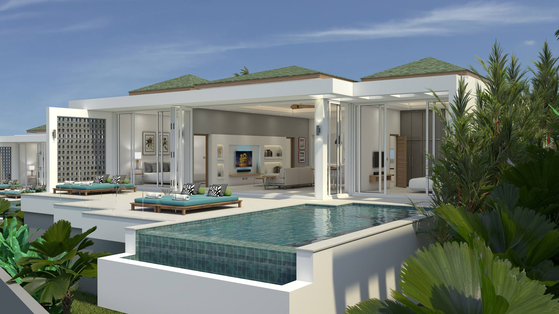 Affordable Samui Sea View Villa Project at Bophut Hill