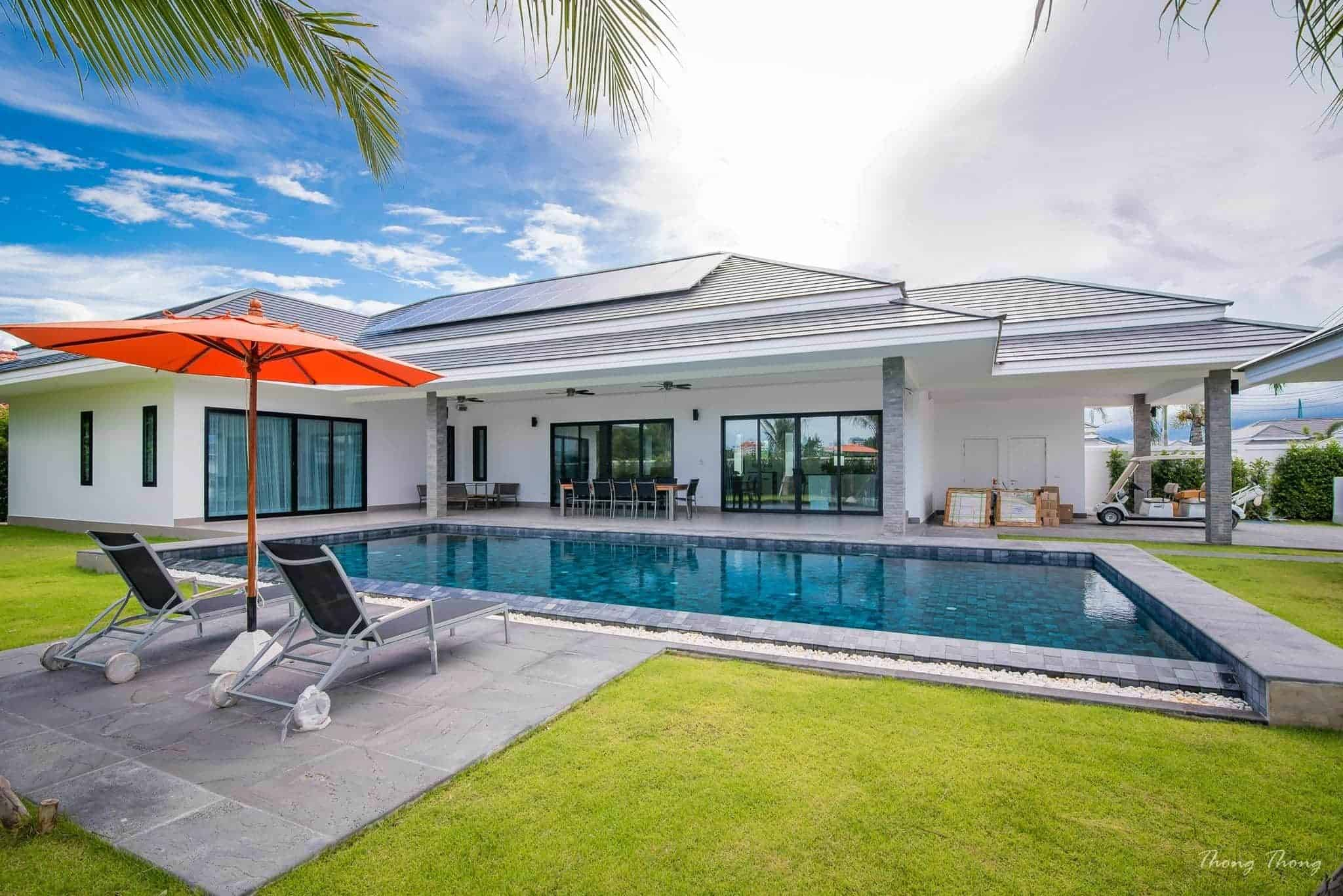 Luxury Pool Villas in Hua Hin with Exceptional Financing