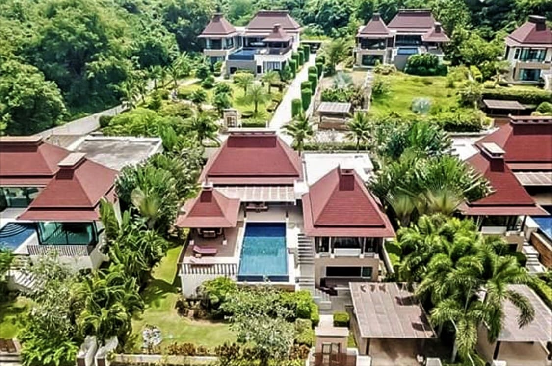 Exceptional Bali-style Villa at Hua Hin Panorama Resort