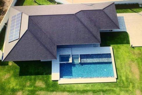 101 Birdseye view of house