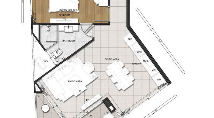 82 Floorplan (Unit Type 2A)