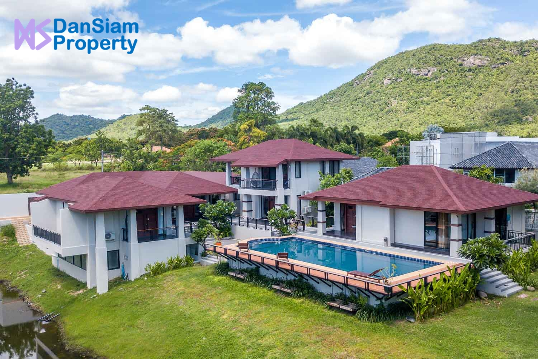 Modern Bali-style Golf Villa in Hua Hin at Palm Hills