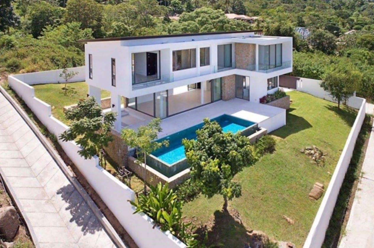 Modern 2-Story Sea & Mountain View Villas in Hua Hin