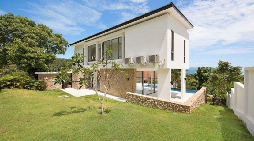 02B Modern Sea View Villa