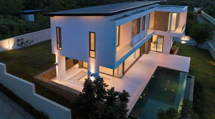 02C Modern Sea View Villa