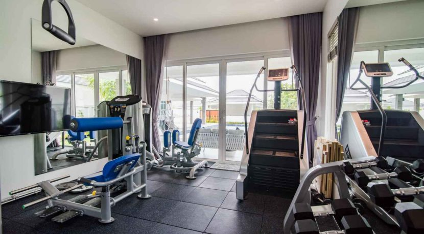 60 Private Gym (Bedroom #4)