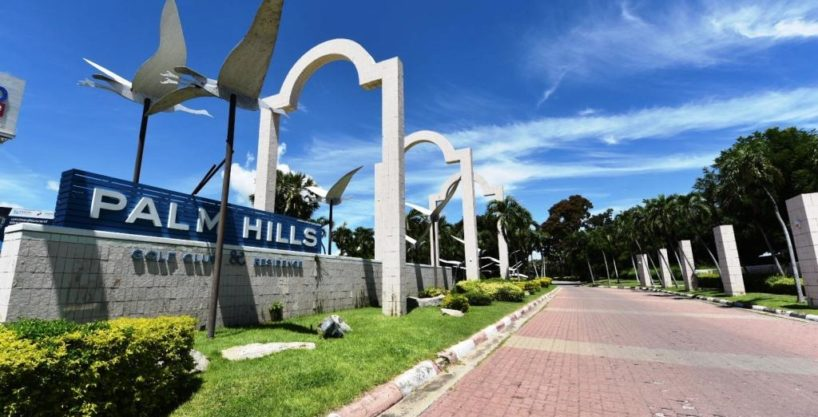 Golf Course Condo in Hua Hin at Palm Hills Golf Resort
