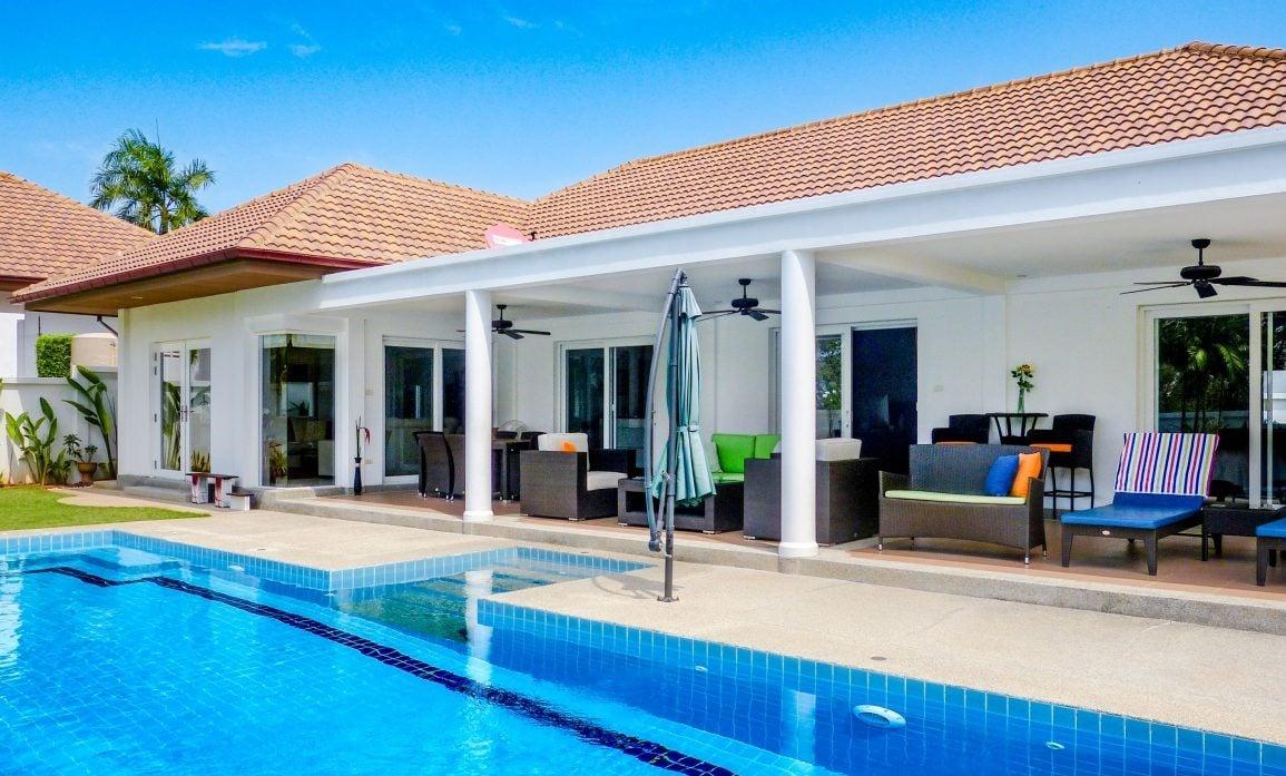Great 3-Bed Pool Villa in Hua Hin at Orchid Palm Homes6