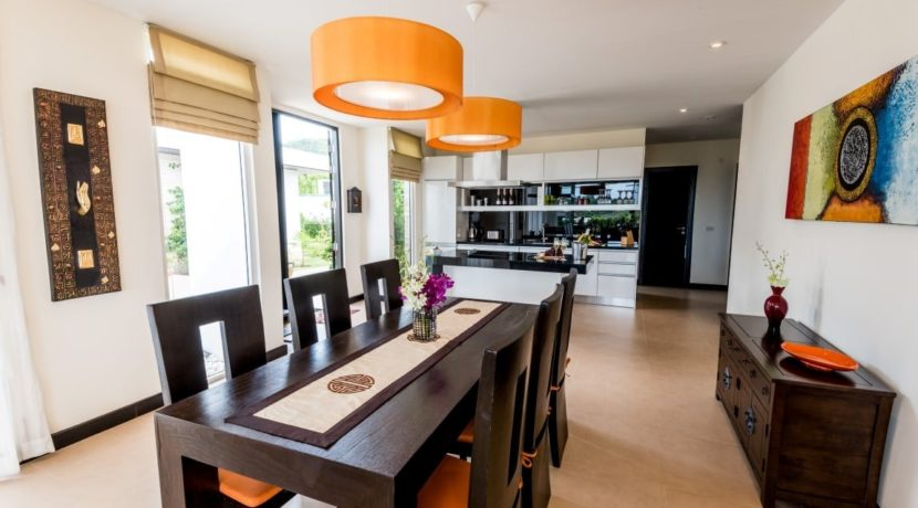 120 Dining area (Villa A)