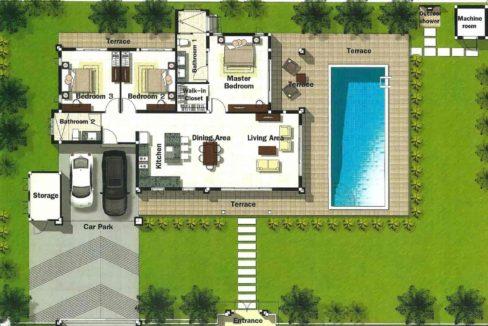 60 HHH7 Superior Thai Bali Floorplan