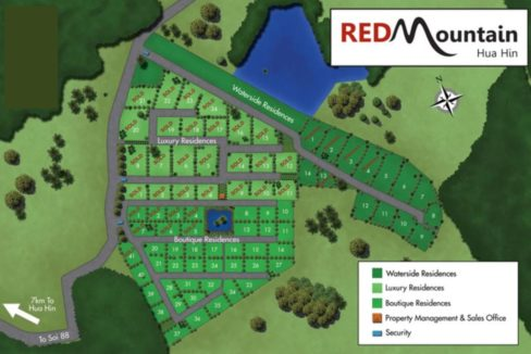 90 Red Mountain Masterplan