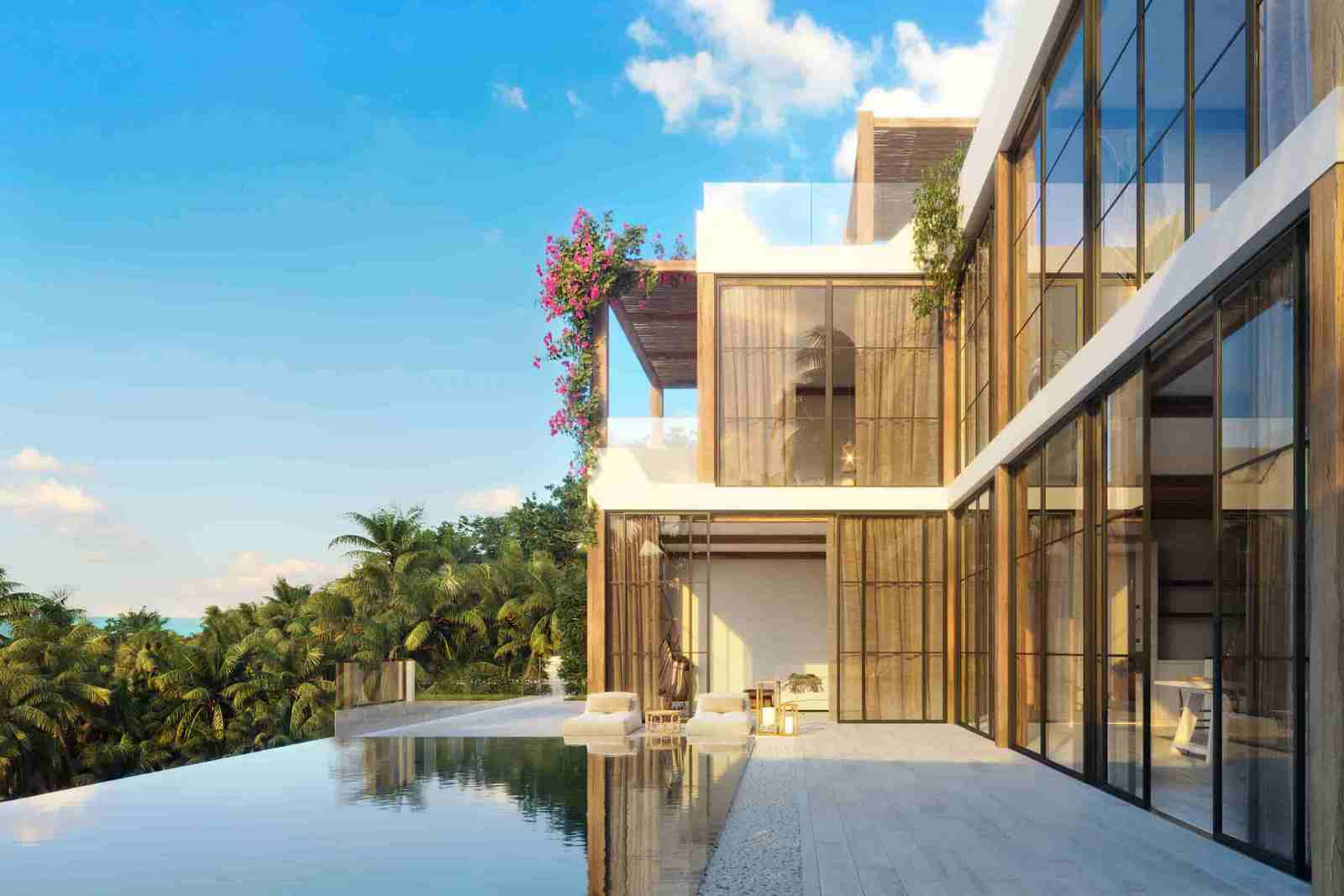 Brand-new Samui Sea View Villa overlooking Chaweng Noi Bay