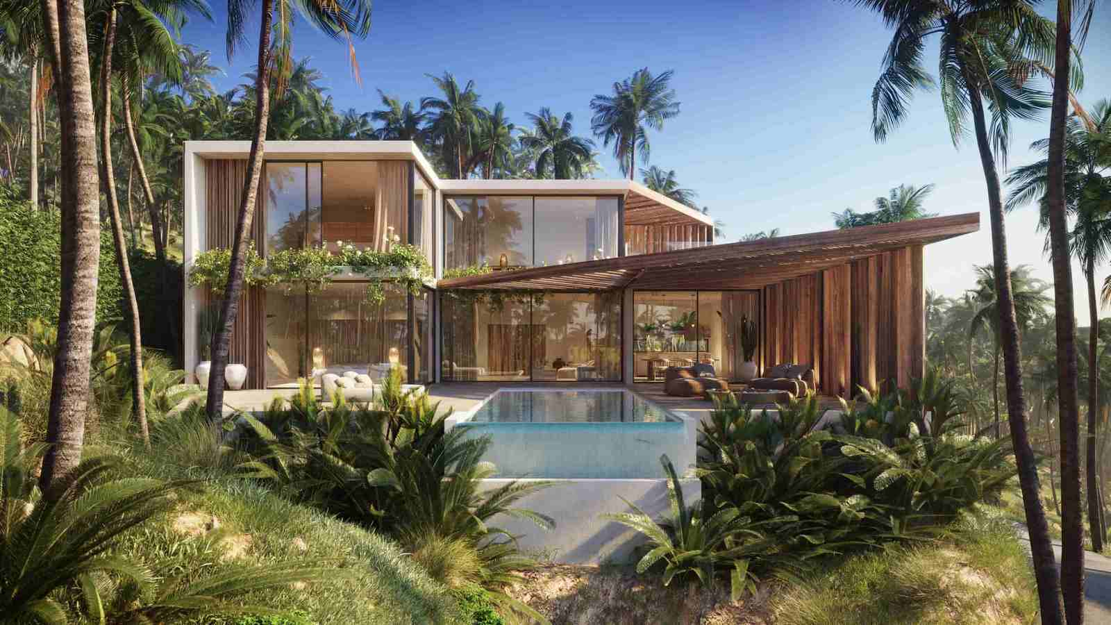 Exceptional Samui Sea View Villa Project in Chaweng