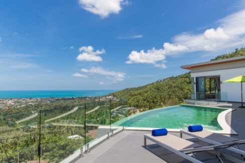 03 Chaweng Villa with panoramic sea view