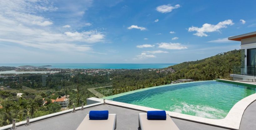 Modern Samui Villa with Gorgeous Panoramic Sea View