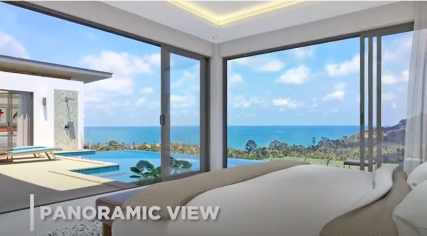 32 Master bedoom with sea view