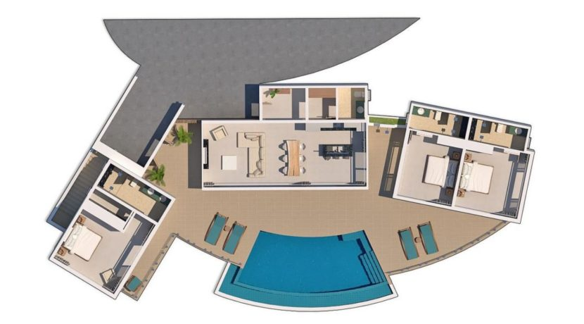 71 Villa floorplan