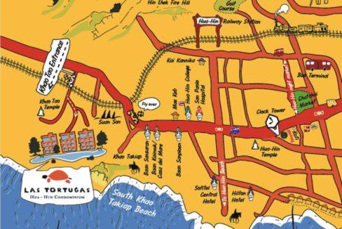 90 Las Tortugas location map