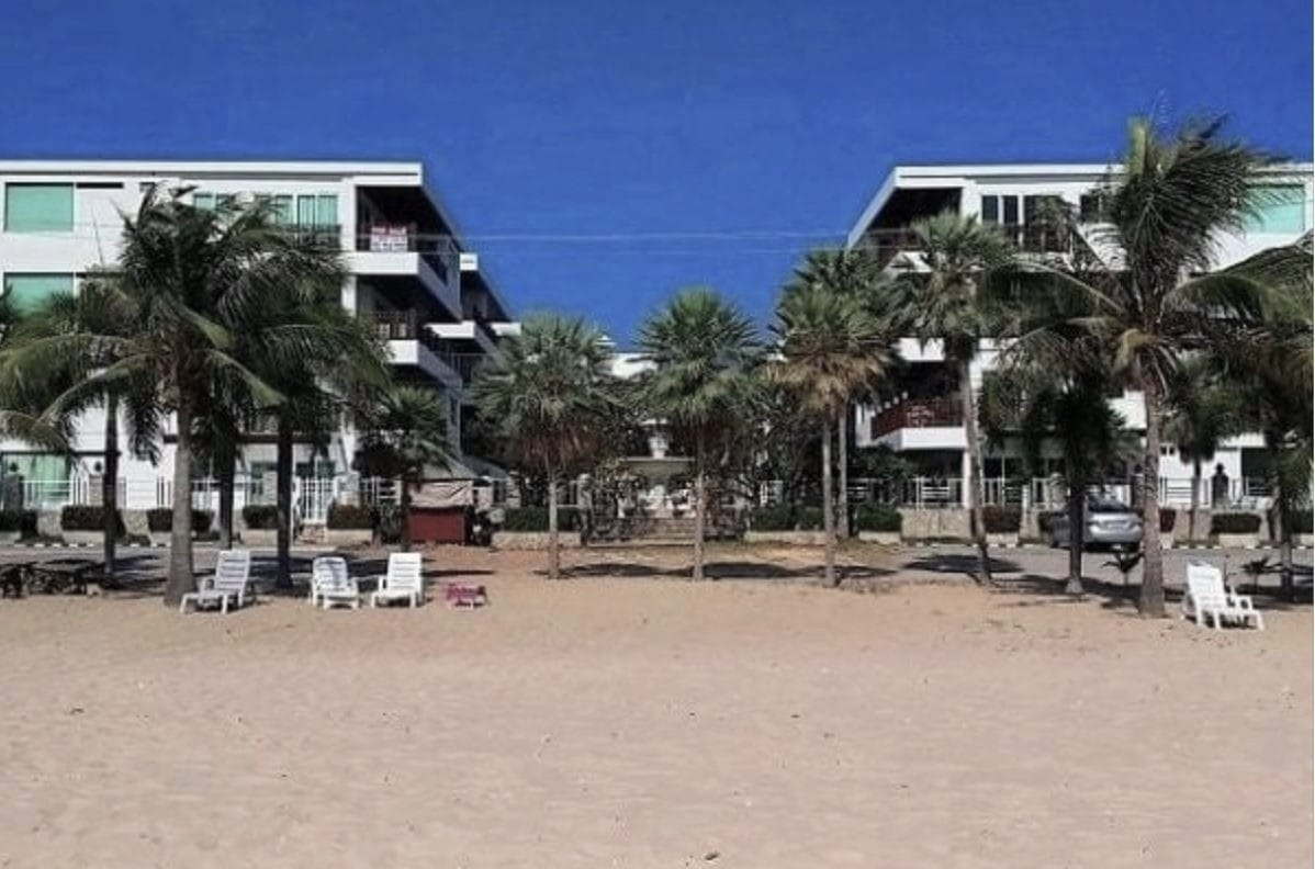 Beachfront Condo with Seaview at Beach Palace
