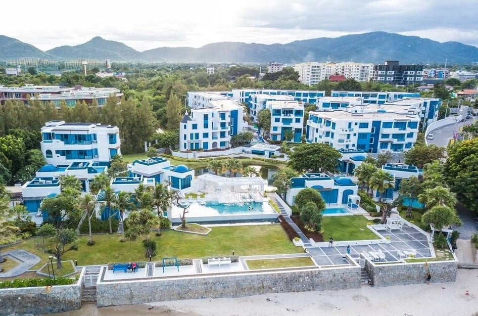 Beachfront Condo in Hua Hin City at The Crest Santora