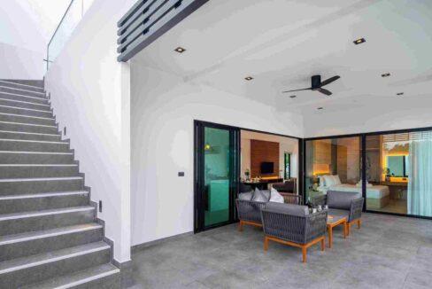 07 Stairway to rooftop terrace