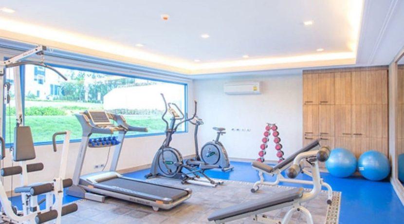 84 Fitness room