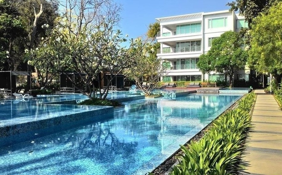 Beachfront Condo in Hua Hin Downtown at Baan San Dao