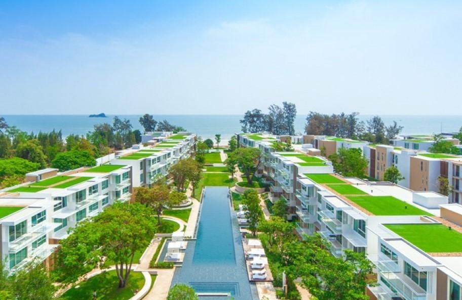Beachfront Sea View Condo near Hua Hin at Wan Vayla