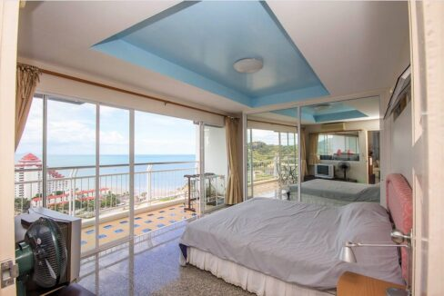 30 Master bedroom with view
