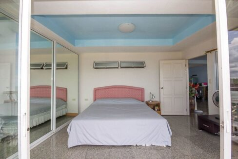 31 Master bedroom with view