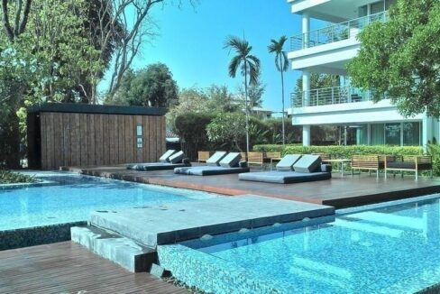 81 Communal Pool and sundeck