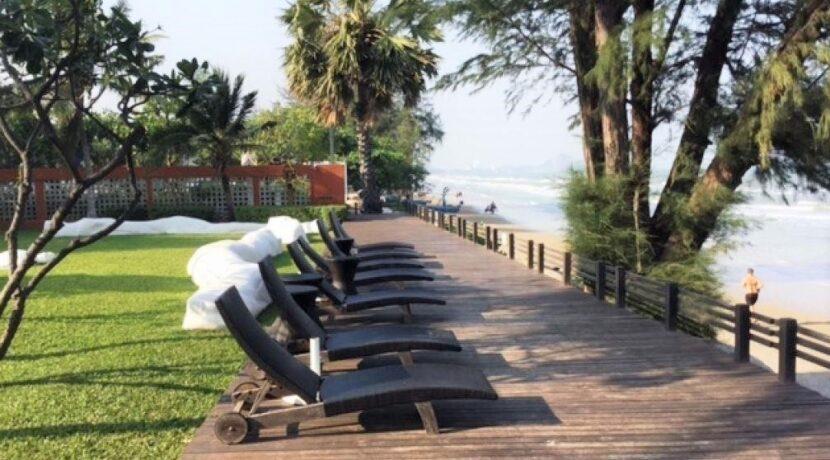 82 Beachfront sunloungers