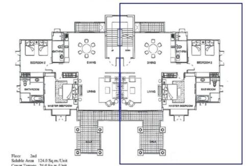 84 Blue Lagoon Floorplan