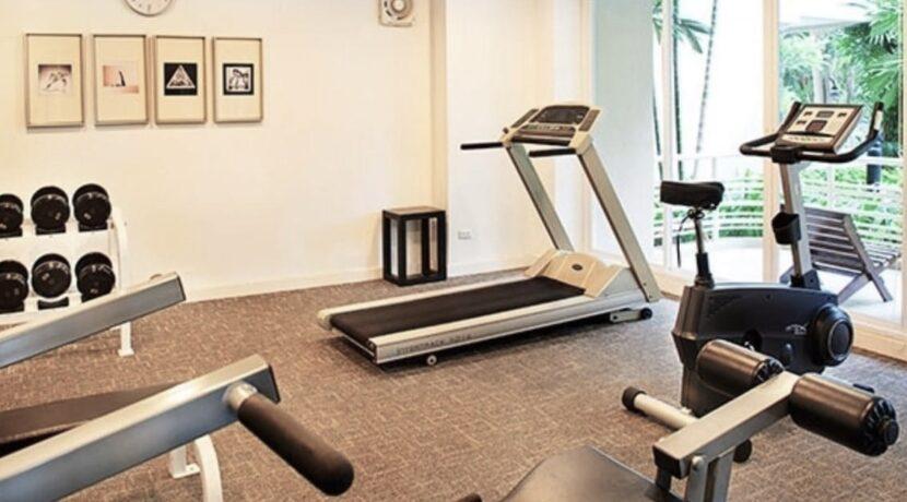 86 Fitness room