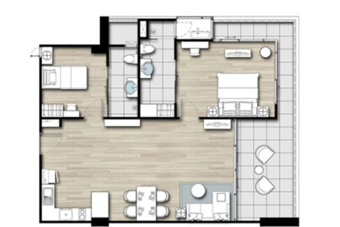 91 MR Floorplan (Type-B1.5)